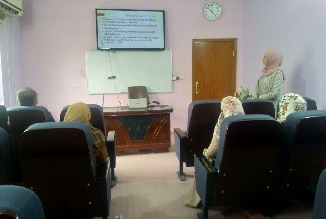 Elisa Technology Workshop at the Faculty of Medicine Enzyme linked Immuno-sorbent Assay ELISA