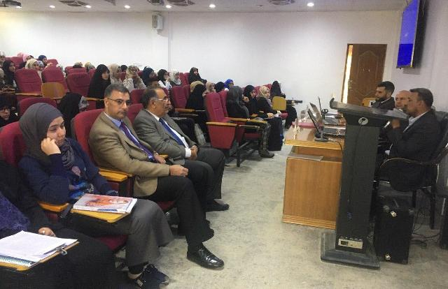 A scientific symposium between the strategic center at the University of Kerbala in cooperation with the College of Medicine