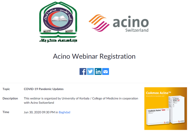 The College of Medicine announces the presentation of its electronic workshop within the e-learning programs
