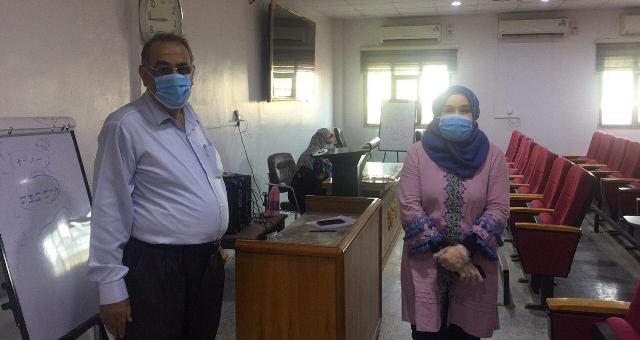 Electronic exams for Iraqi board students / Kerbala Training Center
