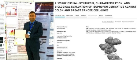 A researcher from Kerbala University obtains a patent enabling him to manufacture anti-cancer compounds