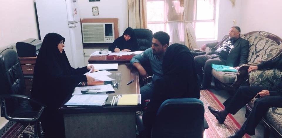 كلية الطب جامعة كربلاء تسجل اكثر من 130 طالب للعام 2018/2017