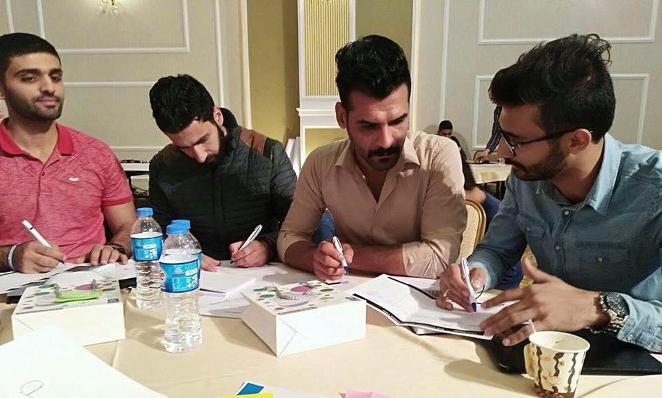 طالب من كلية الطب جامعة كربلاء يشارك في مشروع لتطوير الطب النفسي في العراق