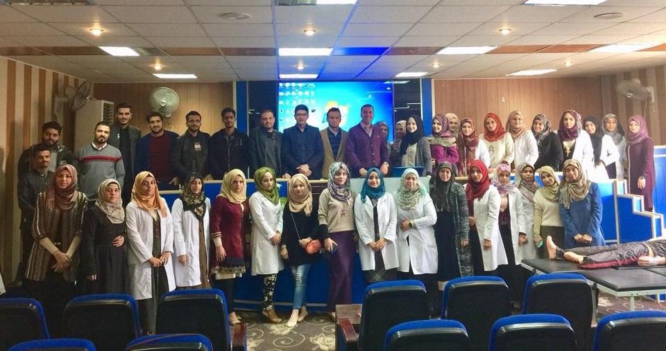 تدريسي من كلية الطب جامعة كربلاء يشارك في دورة مكثفة لاعداد الأطباء الجدد