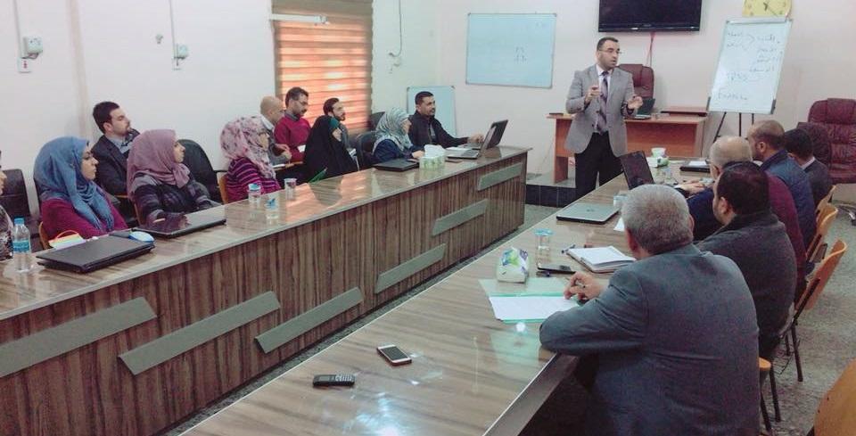دورة مكثفة للبحوث الطبية الرصينة وكيفية كتابتها في كلية الطب جامعة كربلاء
