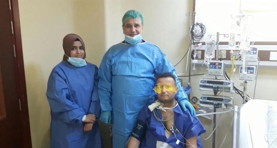 استشاري وتدريسي في كليه الطب جامعه كربلاء ينجح في اولى عمليات زرع الكلى .....