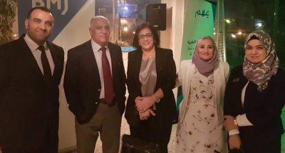 مشاركة رئيس فرع طب الاسره والمجتمع في مشروع دعم القرار الطبي