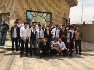 ثانوية الذرى للمتميزين في ضيافة كلية الطب جامعة كربلاء