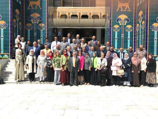مشاركة كلية الطب جامعة كربلاء في ورشة عمل للتقويم والقياس