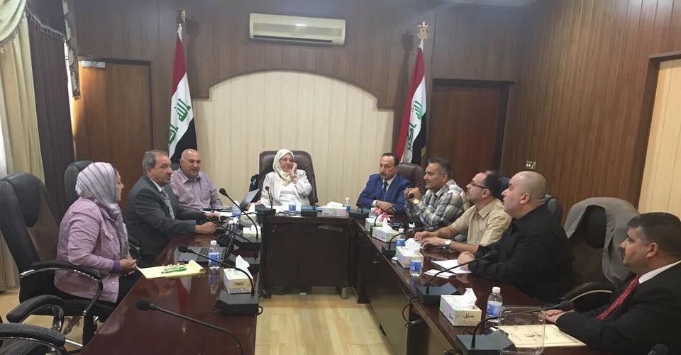 تدريسي من كلية الطب جامعة كربلاء يشارك في اجتماع المجلس الوطني لاعتماد كليات الطب العراقية
