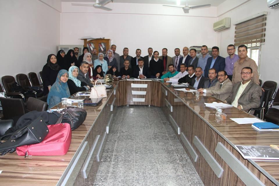 أختتام دورة طرائق التدريس الثانية لكلية الطب / جامعة كربلاء بتمييز