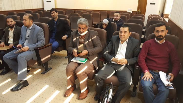 مشاركة الدكتور علي الموسوي في ورشة عمل