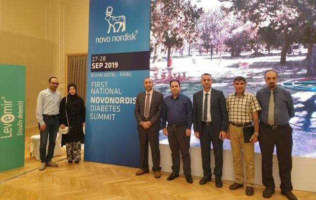 أساتذة كلية الطب/ جامعة كربلاء يشاركون  في مؤتمر قمة داء السكري الوطنية