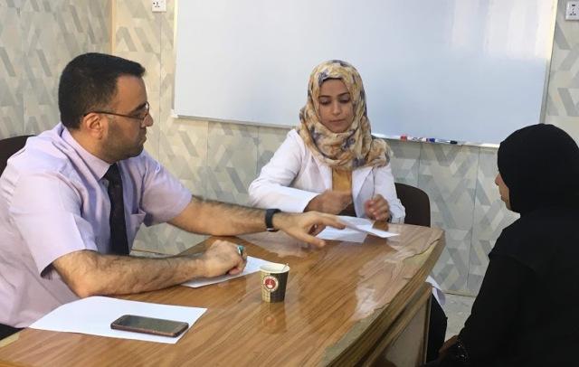 طلبة الدبلوم العالي لطب الاسرة والمجتمع ينجزون امتحان الاوسكي