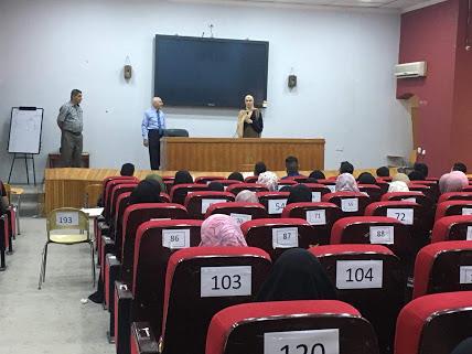 عميد كلية الطب جامعة كربلاء والمعاون العلمي له يلتقي بطلبة المرحلة الاولى بداية العام الدراسي الجديد 2019-2020