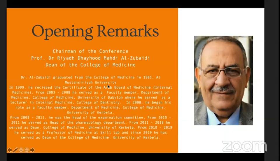 جامعة كربلاء تقيم مؤتمرها الدولي الطبي الخامس