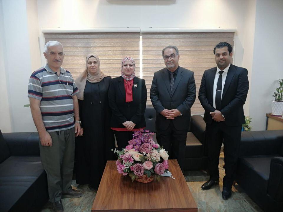 مؤسس رابطة اساتذة الكيمياء الحياتية في العراق في رحاب كلية العلوم  جامعة الموصل