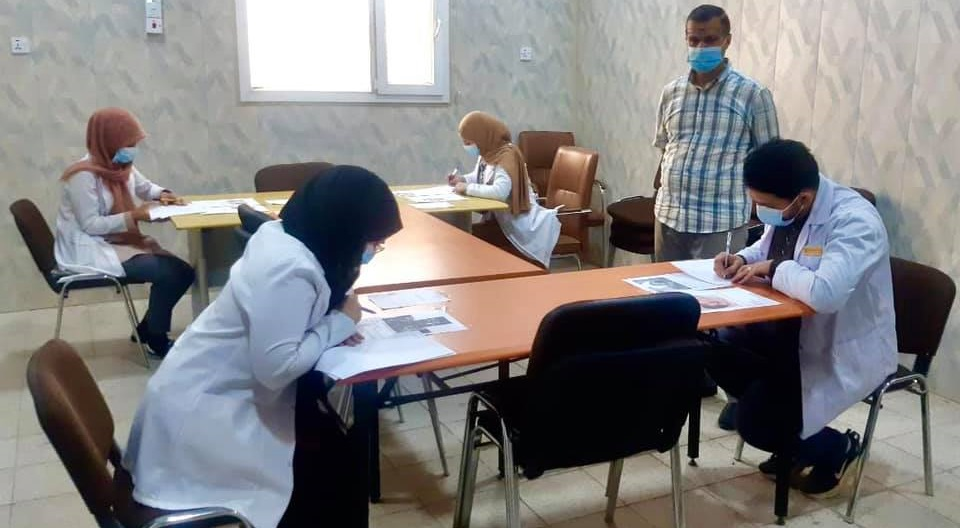 The Faculty of Medicine begins the second round exams for the sixth stage